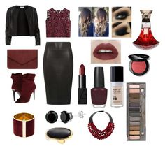 """Night Style Gal"" by fashiondoll07 on Polyvore featuring Dorothy Perkins, Alberta Ferretti, Maglie I Blues, Burberry, NARS Cosmetics, OPI, Bobbi Brown Cosmetics, Urban Decay, Fairchild Baldwin and Dsquared2"