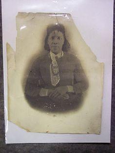 "VINTAGE  PHOTO  OF BLACK WOMAN  8"" x 10"" • $19.95 - PicClick"