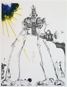 Salvador Dali, Space Elephant