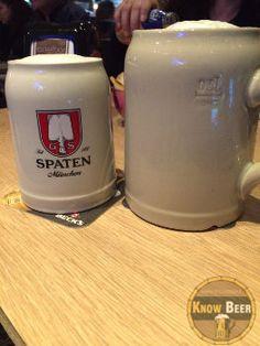 Birra Spaten Munchner Hell, birra tedesca famosa per l'Ocktober Fest