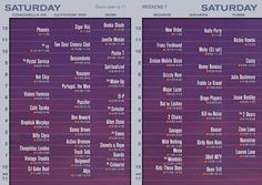 Coachella 2013: Saturday Set Times and Recommendations