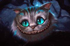 """This is impossible."" / Alice in Wonderland, Tim Burton, 2010 Cheshire Cat Tim Burton, Cheshire Cat Cake, Cheshire Cat Alice In Wonderland, Chesire Cat, Tim Burton Kunst, Art Tim Burton, Tim Burton Films, Wallpaper Gatos, Cat Wallpaper"