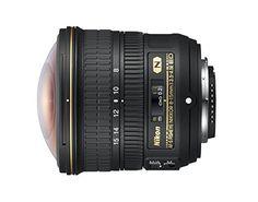#1: Nikon AF-S FISHEYE NIKKOR 8-15mm f/3.5-4.5E ED F/4.5-29 Fixed Zoom Camera Lens Black