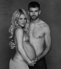 Celebs And Their Naked Baby Bumps - SHAKIRA - ..See them now at www.pretapregnant.com - Pret a Pregnant #Fashionmoms