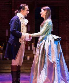 Lin-Manuel Miranda & Phillipa Soo in Hamilton