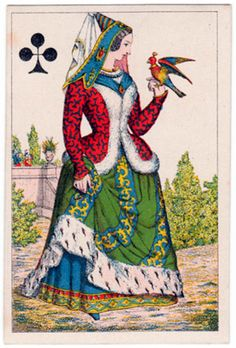 #PlayingCardsTop1000 - Premiere croisade - Queen of clubs