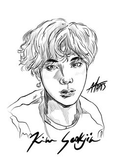 "AGUST4 on Twitter: ""Kim Seok Jin Fan art  #MGMAVOTE #BTS @BTS_twt #방탄소년단… "" Bts Fans, Jin, Twitter Sign Up, Fan Art, Shit Happens, Fanart, Gin"