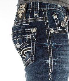 NEW Buckle Men's ROCK REVIVAL Low Rise Kane Slim Boot Jean 28, 31 save big! #RockRevival #BootCut