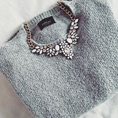 Snow White Statement Necklace #ootd #fashion #stylish -  24,90 € @happinessboutique.com