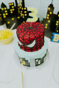 Superhero Third Birthday Party // www.thehiveblog.com