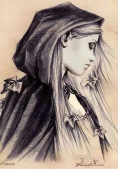 Victoria Frances In truth, I love her pencil art more than her paintings, most…
