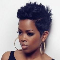 Love this haircut on Malinda Williams More