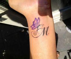 Mini Tattoos, Foot Tattoos, Cute Tattoos, Small Tattoos, Tatoos, Butterfly Tattoo Meaning, Butterfly Tattoo On Shoulder, Butterfly Tattoo Designs, Tattoo Designs Wrist