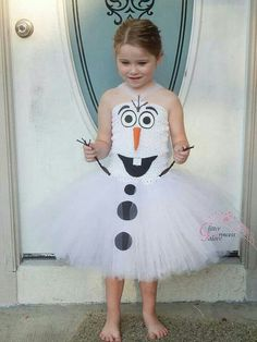 Girly Olaf Costume