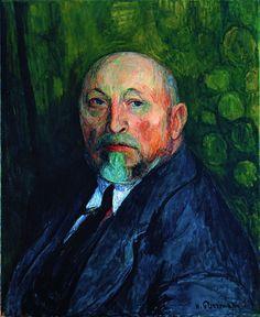 Hans Purrmann - Selfportret