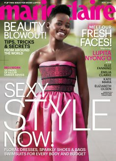Marie Claire Snags Five Major 'It' Girls for Its May Covers: Lupita Nyong'o
