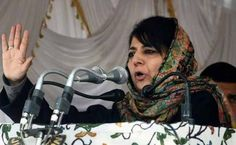 Mehbooba Mufti Continues To Keep Everyone Guessing On Government Formation