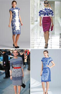 NewYorkDress Blog // Color Trend: Bold Blue // Click through for more bold blue inspiration! // #Prada #Tadashi