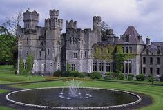 The Ashford Castle is a gorgeous 83-room hotel, located in the quiet village of Mayo, Ireland. The unique hotel lets its clients live like royalty amid its medieval-style architecture and its elegantly decorated rooms. It's hard to believe this isn't the place Harry learned to fly a broom his first year.