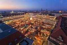 Dresdner Striezelmarkt -  Germany's oldest Christmas market. Photo: © City of Dresden / Dittrich