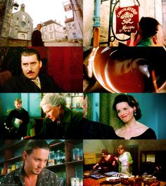 """Chocolat"" with Johnny Depp and Juliette Binoche.  Beautiful story - beautiful cinematography - beautful soundtrack"