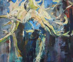 "Saatchi arte artista María Nika Yakovleva;  Pintura, #art ""Power"""