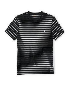 7acc333652 Custom-Fit Striped T-Shirt - Polo Ralph Lauren Tees - RalphLauren.com