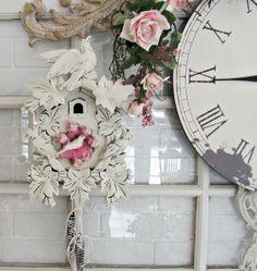 Penny's Vintage Home: Cuckoo Clock Birdhouses