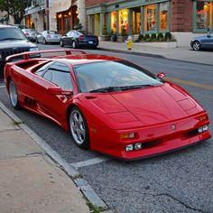 lamborghini classic cars and women Lamborghini Diablo, Lamborghini Aventador, Lamborghini Espada, Maserati, Bugatti, Bosch, Dream Cars, Automobile, Exotic Sports Cars