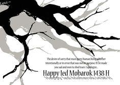 Happy Ied Mobarok 1438H