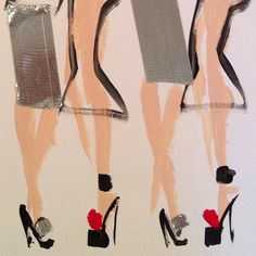 Donald Drawbertson #fashionillustration