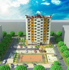 De vinzare apartament cu 2 odai in complex locativ FAMILIA, situat in sectorul  Buiucani la intersectia strazilor  Alba -Iulia si Sucevita. In apropierea complexului este  situat parcul Butoias de pe str. N. Costin. Apartamentul are o suprafata totala de 63 mp, cu o planificare interioara moderna si se afla la etajul 4 in 8 in bloc nou construit foarte calitativ. Baseball Field, Basketball Court, Park