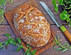 5 helppoa leipäohjetta Food N, Food And Drink, Bread Board, Deli, Bread Recipes, Baked Potato, Baked Goods, Bakery, Rolls