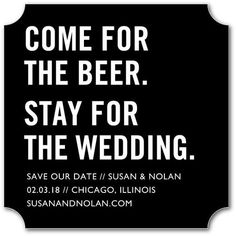 Serve Up Boozy Nights With A Cheeky Save The Date Coaster Funny Dates