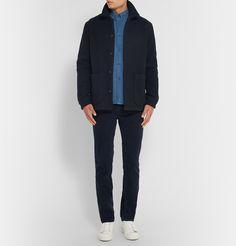 A.P.C.Padded Wool-Blend Coat