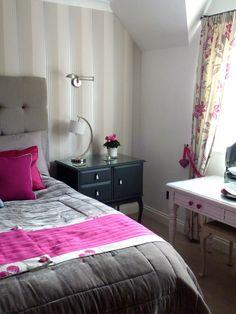 Before & After: 'hotel chic' inspired bedroom makeover    www.homerestyler.co.uk  http://homerestyleruk.blogspot.co.uk