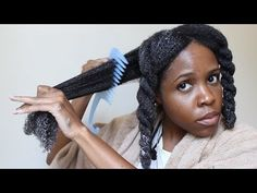Natural Hair Wash Routine| Detangle and Moisturize Pt2