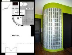 Aménagement d'une chambre de bonne de 13m2 à Paris 9ème dans un esprit petillant. Une vraie optimisation de petite surface !
