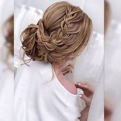 braided updo wedding hairstyle #weddinghairstyles #bridalhairstyle #bridalupdos #weddinghairstyle