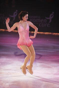 Sasha Cohen  -Pink Figure Skating / Ice Skating dress inspiration for Sk8 Gr8 Designs.