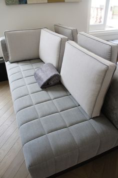 Double sided sofa. So cool. www.kensingtondesign.com
