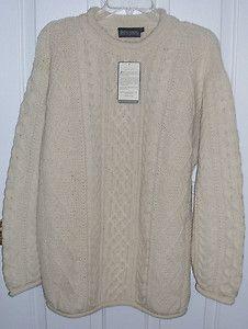 New Men's Fisherman Sweater - eBay $49.97