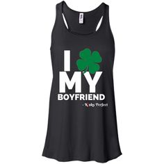 Checkout the latest from Merch Mastery! I Love My Boyfrie... click here! http://merchmastery.com/products/i-love-my-boyfriend-shamrock-flowy-racerback-tank?utm_campaign=social_autopilot&utm_source=pin&utm_medium=pin