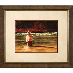 """Phoenix Galleries Mending the Drift Framed Print - 28""""x 24"""" - BH21189"""