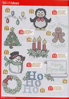 Gallery.ru / Фото #6 - Cross Stitch Crazy 131 рождество 2009 - tymannost