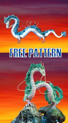 Crochet Dragon Pattern, Crochet Amigurumi Free Patterns, Crochet Animal Patterns, Crochet Patterns Amigurumi, Free Crochet, Crochet Top, Crochet Crafts, Crochet Projects, Crochet Disney