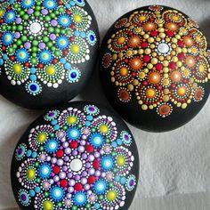New mandala stones. Coming soon ...