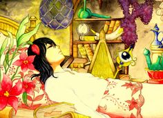 Howl's Lucky Charm Room by ~Cephis on deviantART