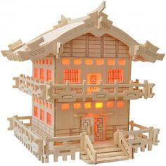 3D Puzzle - Japanese house