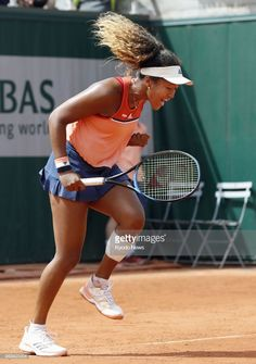 Naomi Osaka of Japan reacts after serving an ace against American Sofia Kenin in the first round of the French Open in Paris on May Osaka beat Kenin ==Kyodo Get premium, high resolution news photos at Getty Images Osaka, Tennis Match, Sport Tennis, Us Open, Maria Sharapova, Serena Williams, Roger Federer, Australian Open, Rafael Nadal